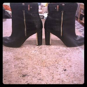 Ann Taylor heeled booties